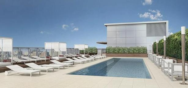 Pool at Day Rendering