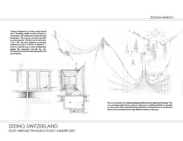 Seeing Switzerland - sketches