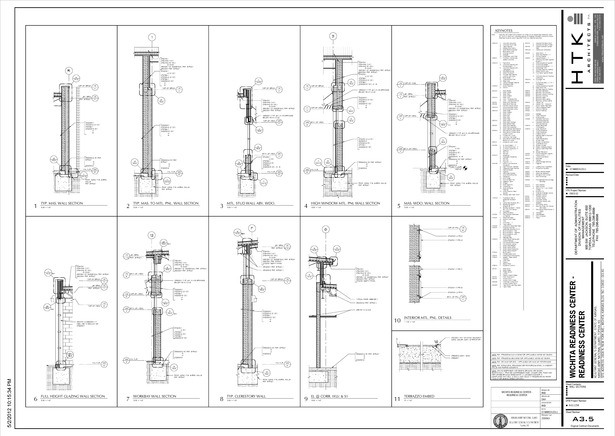 Representative drawing sheet. All done in Revit.