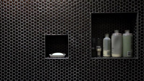 bathroom tile detail
