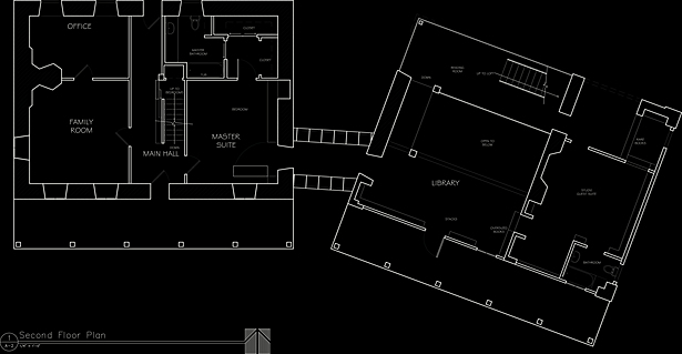 Second Floor Plan, Millerton House