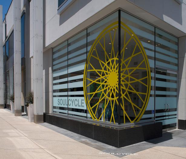 branded storefront signage