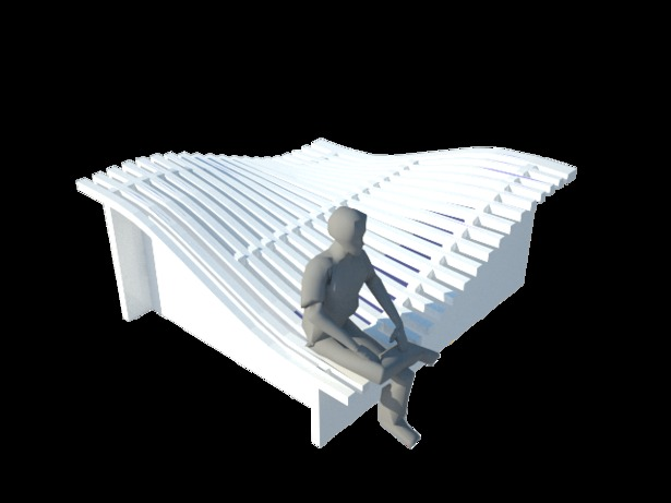 Conceptual render- Wave Bed