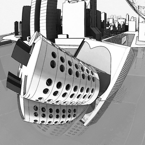 detail I : sinking Cloverleaf