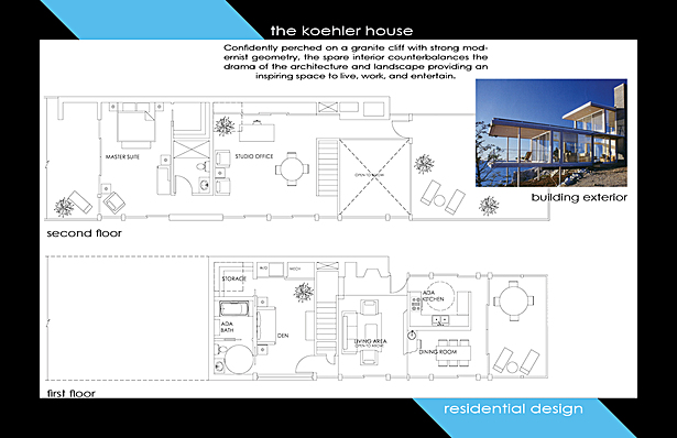 Koehler house aging in place m hive archinect for Aging in place floor plans