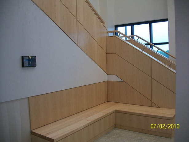 Image 4 of Public Entry staircase; 1st flr public seating