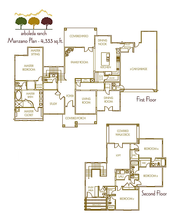 Plan 3 - Marketing Floor Plan