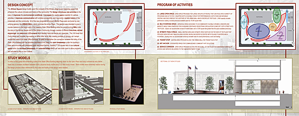 African Square presentation board 02