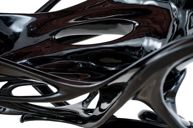 title: La Chaise Grotesque (2010) designer: xefirotarch_Hernan Diaz Alonso client: Chicago Institute of Art fabricator: Parrish Rash van Dissel
