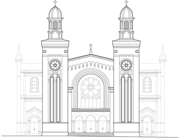 Existing Entry Elevation