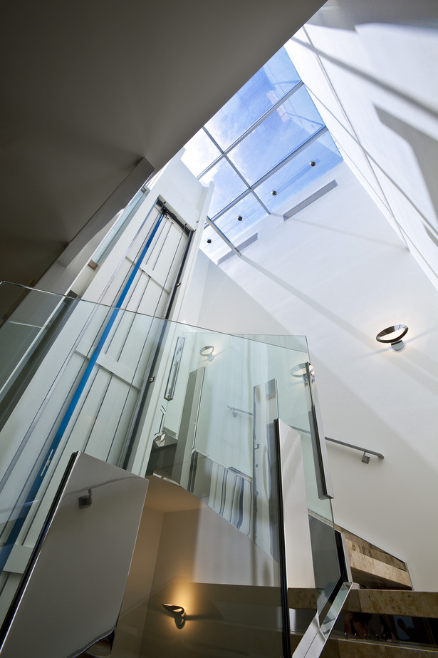 Skylight Atrium with elevator