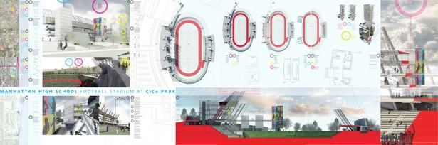 Inverted Stadium. Heintzelman Prize Presentation Boards.