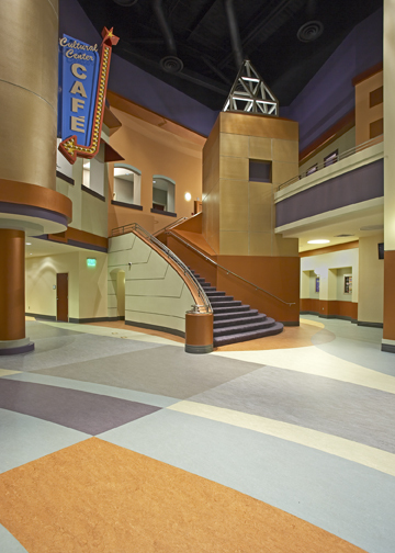 Performing Arts Lobby