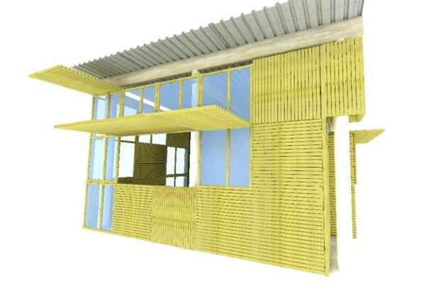 Casa de bambu 01