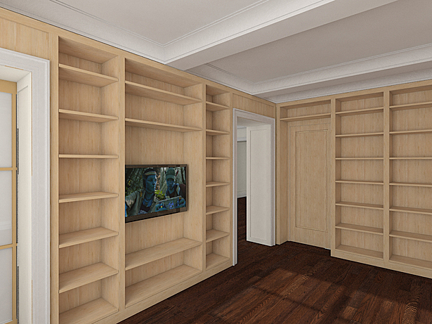 Family room / library