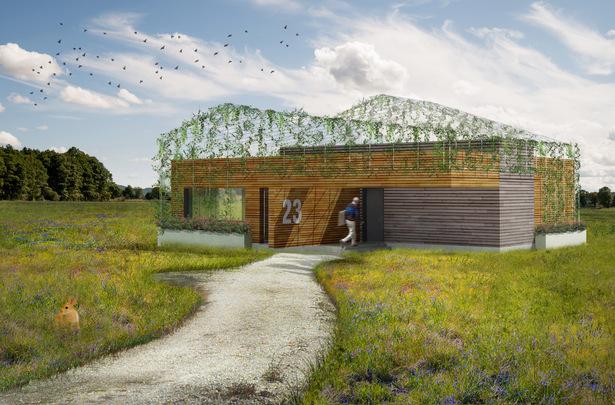 """Camouflage House"", prototype designed by AGi architects, now on sale"