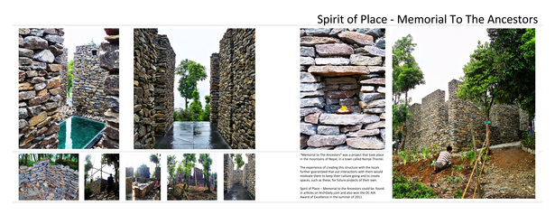 "Spirit of Place - ""Memorial to The Ancestors"""