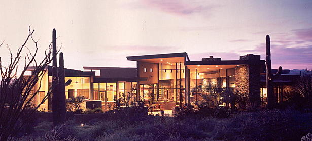 Desert Contemporary Residence