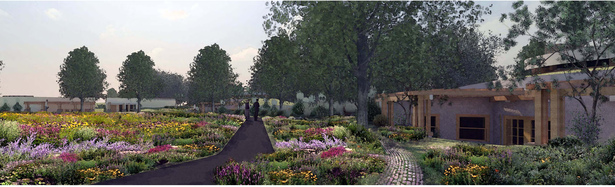 Bike Path and Gardens