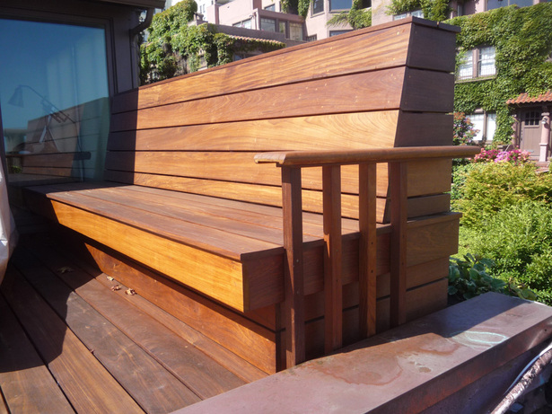 IPE Deck Bench