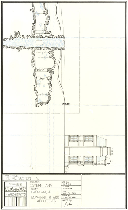 1903 section of cistern