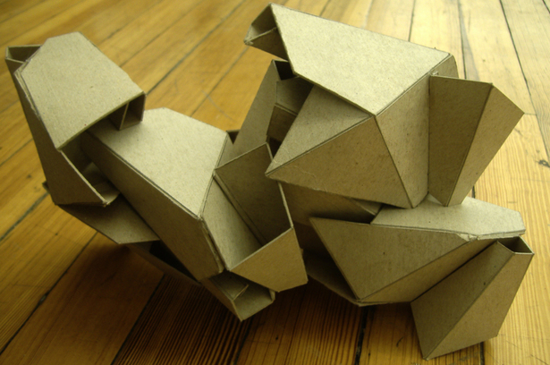 process model (chipboard)