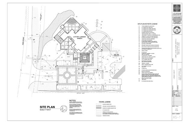 Auto-Cad Site Plan