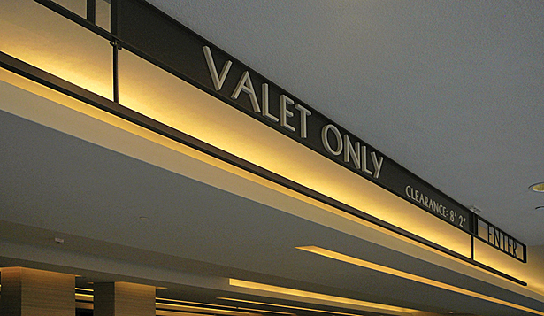 Valet Parking Entrance ID
