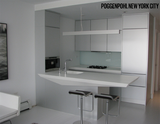 Poggenpohl NYC Kitchen Island Top Design
