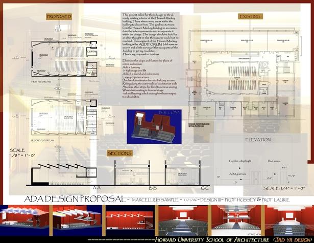 H.U. SCHOOL OF ACRCHITECTURE AUDITORIUM DESIGN