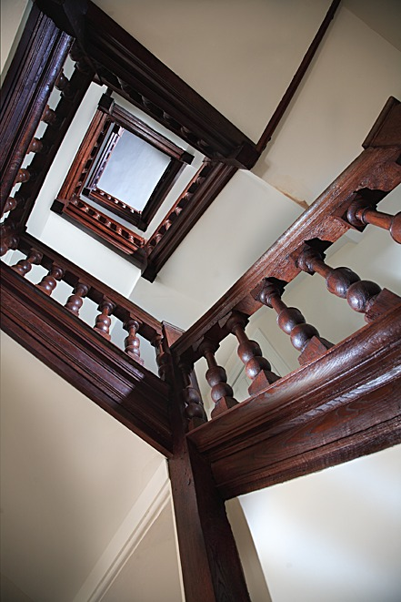 Preserved stairs
