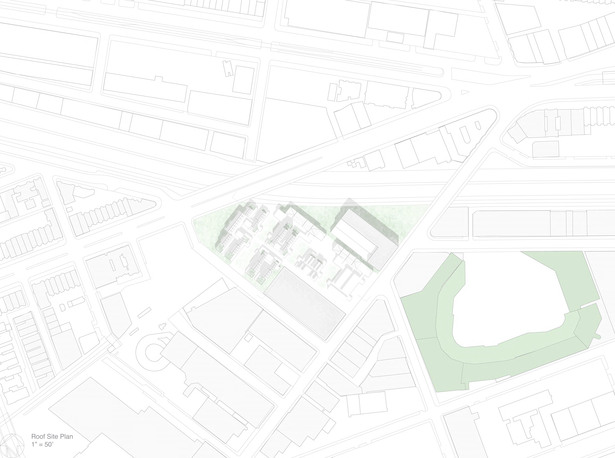 site plan in relation to fenway park