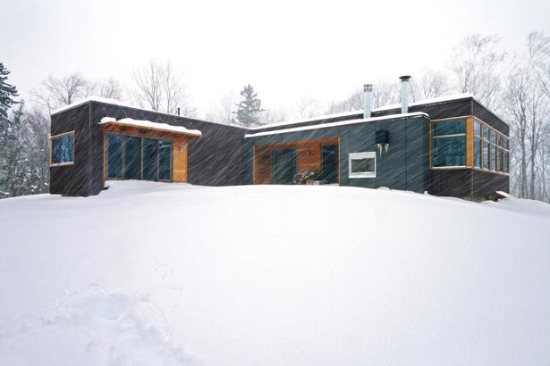 Vermont Cabin exterior, © RES4