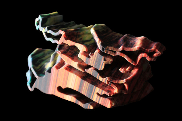 Figural extrusion study model