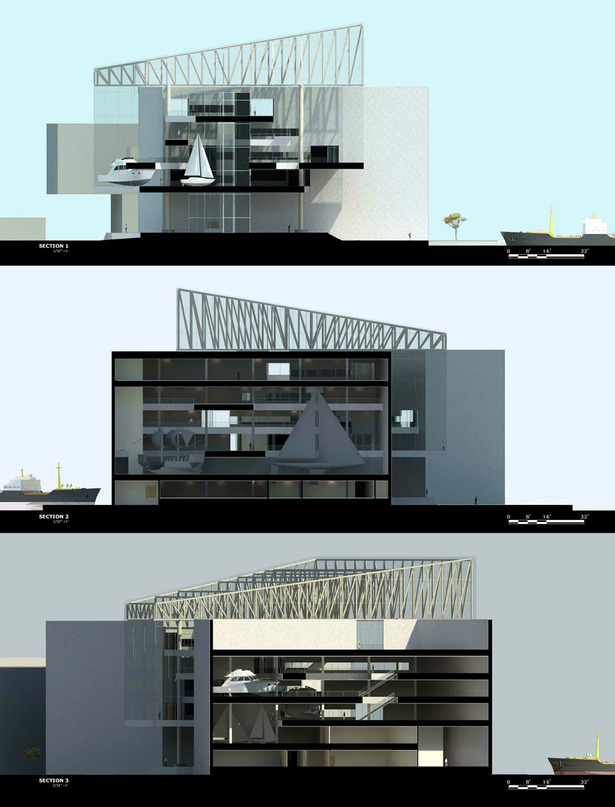 Revit Sections (Rendered)