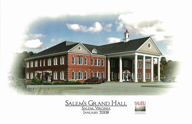 Salem Grand Hall Conceptual Design
