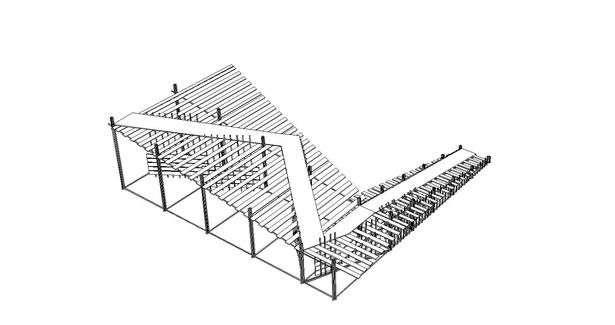 3D view of the ramp