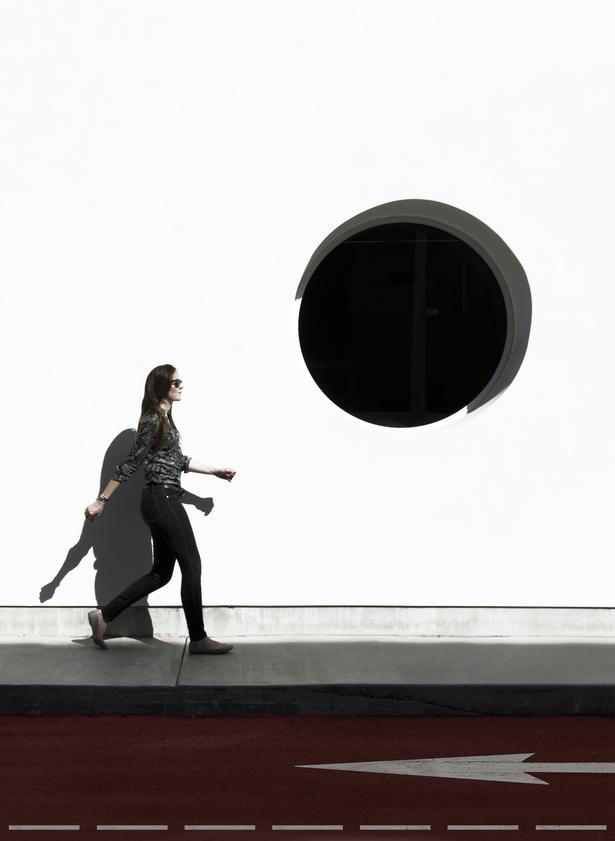 Circular Window, photo by Catherine O'Sullivan