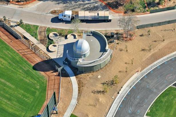 Westmont College Observatory Aerial