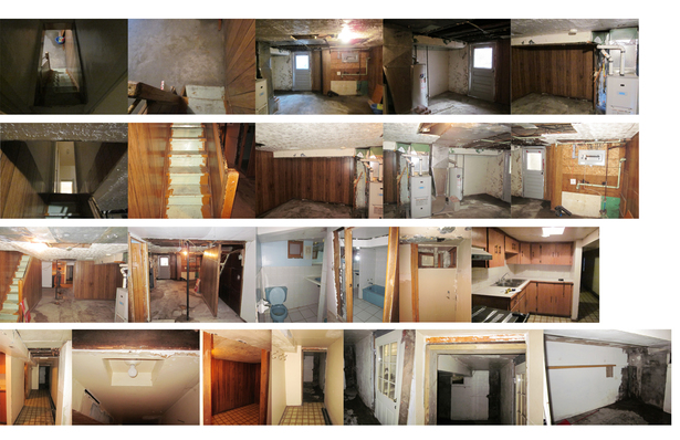 Interiors before transformation 1/3
