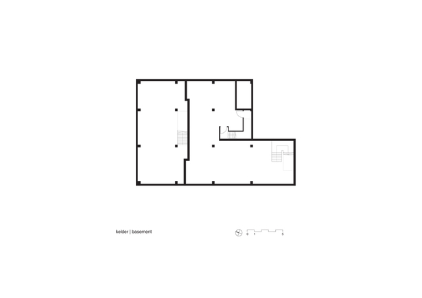 Claus en Kaan Architecten / Basement Floor Plan