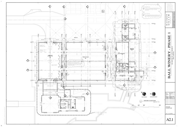Ball Winery Floor Plan