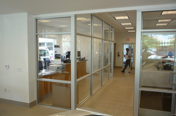 New Storefront for Finance and Insurance Offices