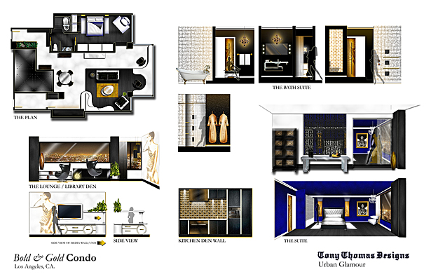 THE BOLD & GOLD CONDO - ELEVATIONS/VIEWS