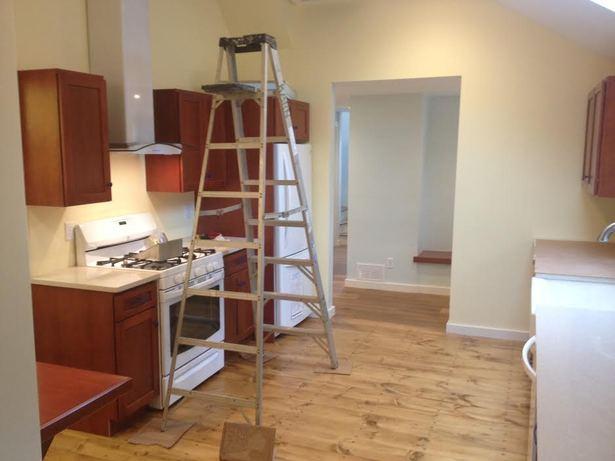 New kitchen in progress