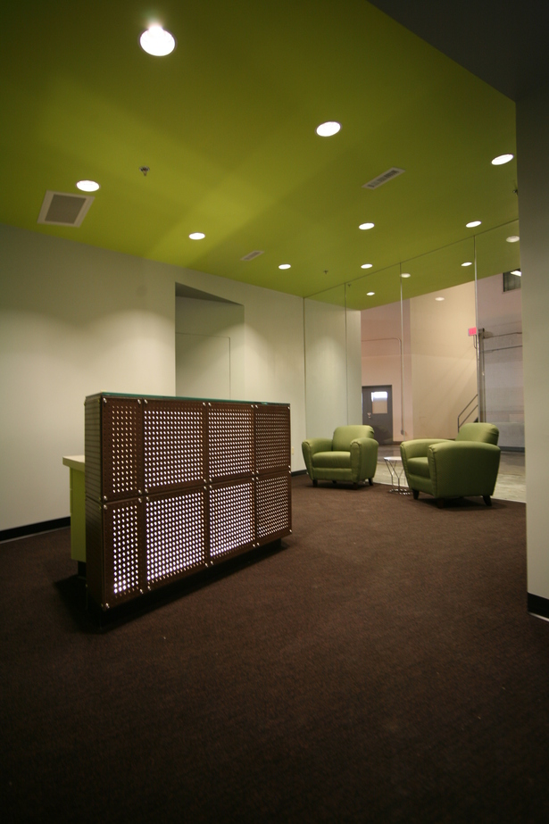 Lobby with Reception Desk