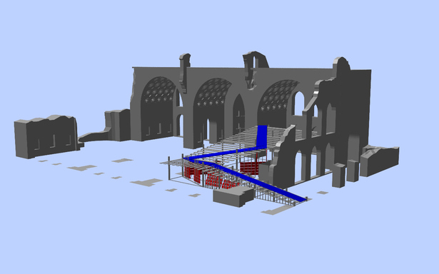 3D view of the model