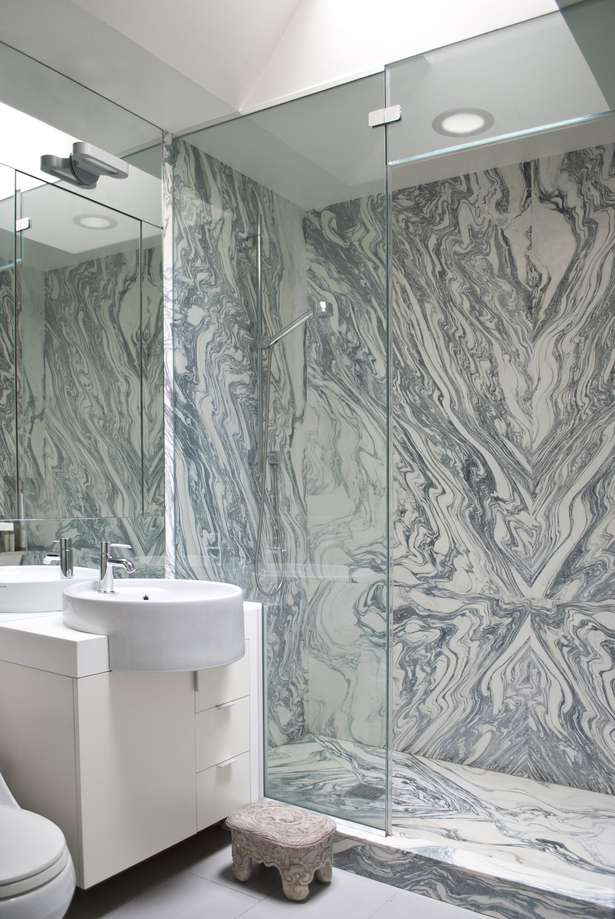 shower - marble
