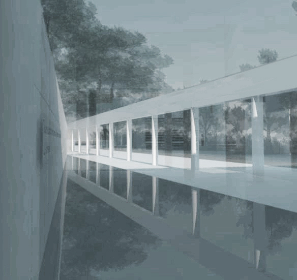 reflecting pool rendering 1