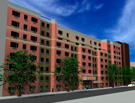 rendering of facade